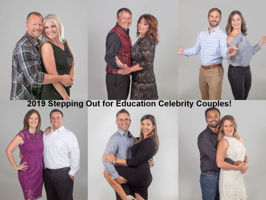 2019 Stepping out for Education Celebrity Couples