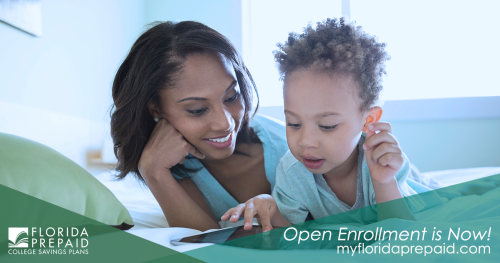 Florida Prepaid Open Enrollment banner