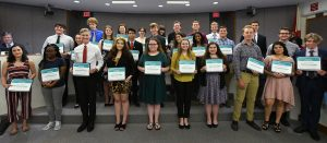 2020 Presidential Scholars group photo