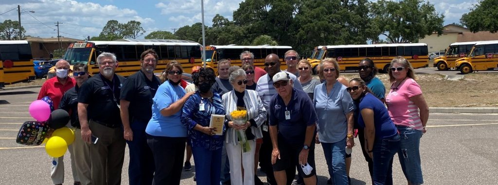 Group photo with Betty Dupree