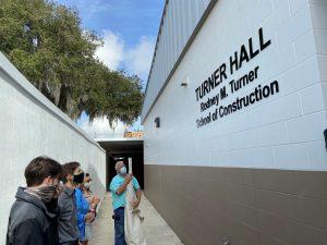 Rodney Turner naming ceremony at Bartow High