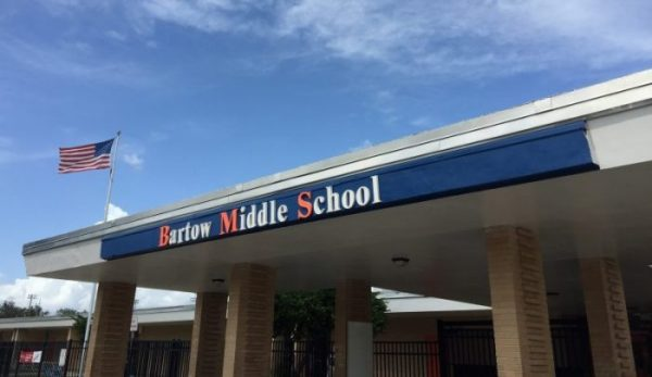 Exterior photo of Bartow Middle