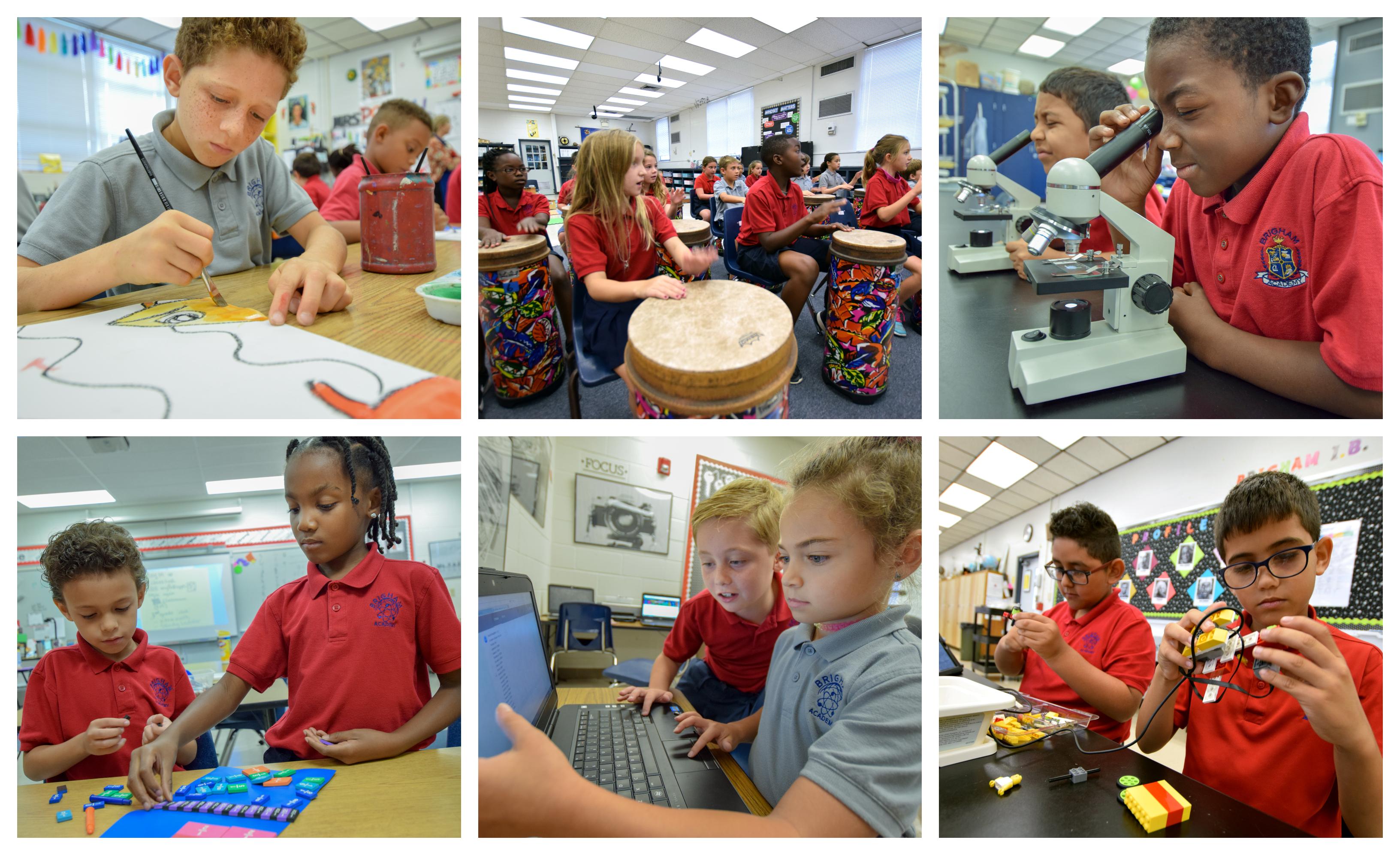 Brigham Academy collage