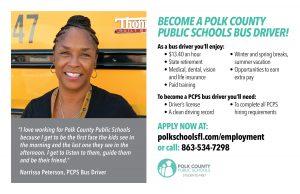 Bus driver employment info
