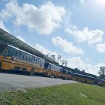 School buses at Boswell Elementary