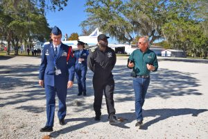 Barrington Irving visits CFAA