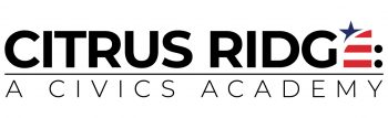 Citrus Ridge; A Civics Academy logo