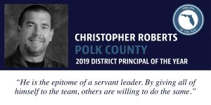 Principal of the Year profile image for Christopher Roberts