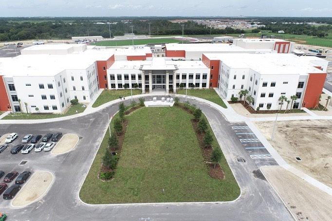 Construction photo of Davenport High