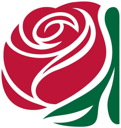 Delta Kappa Gamma Rose logo