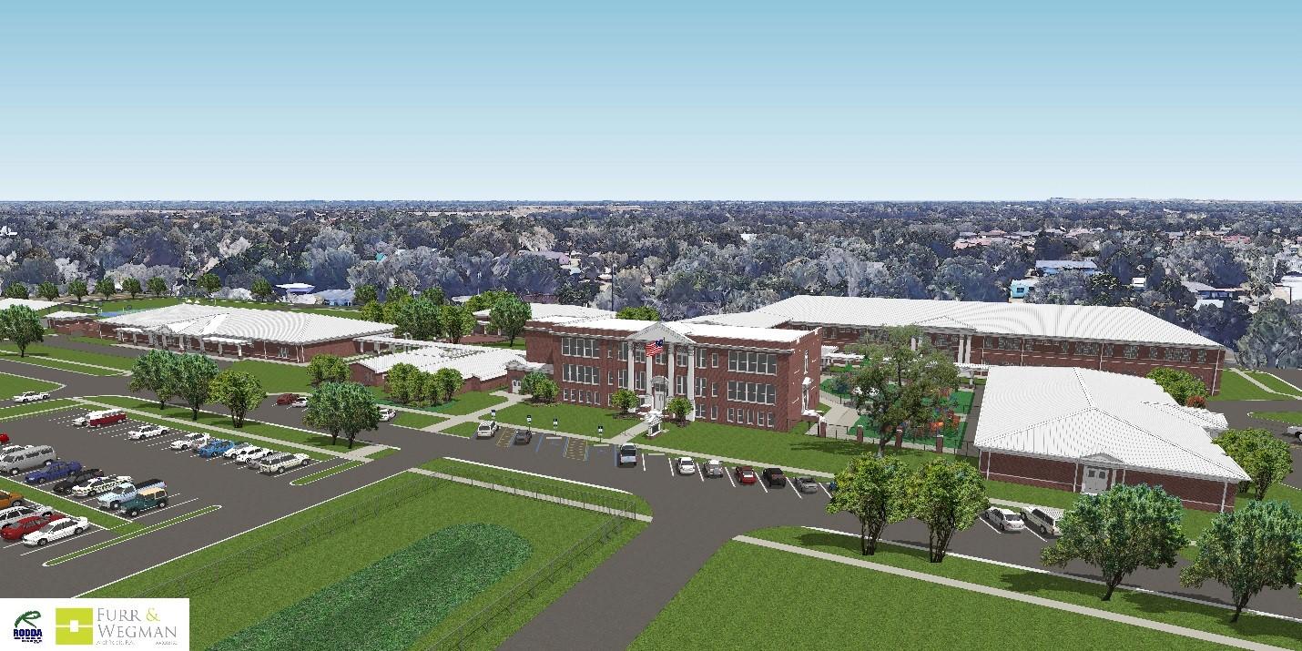 Davenport elementary school rendering
