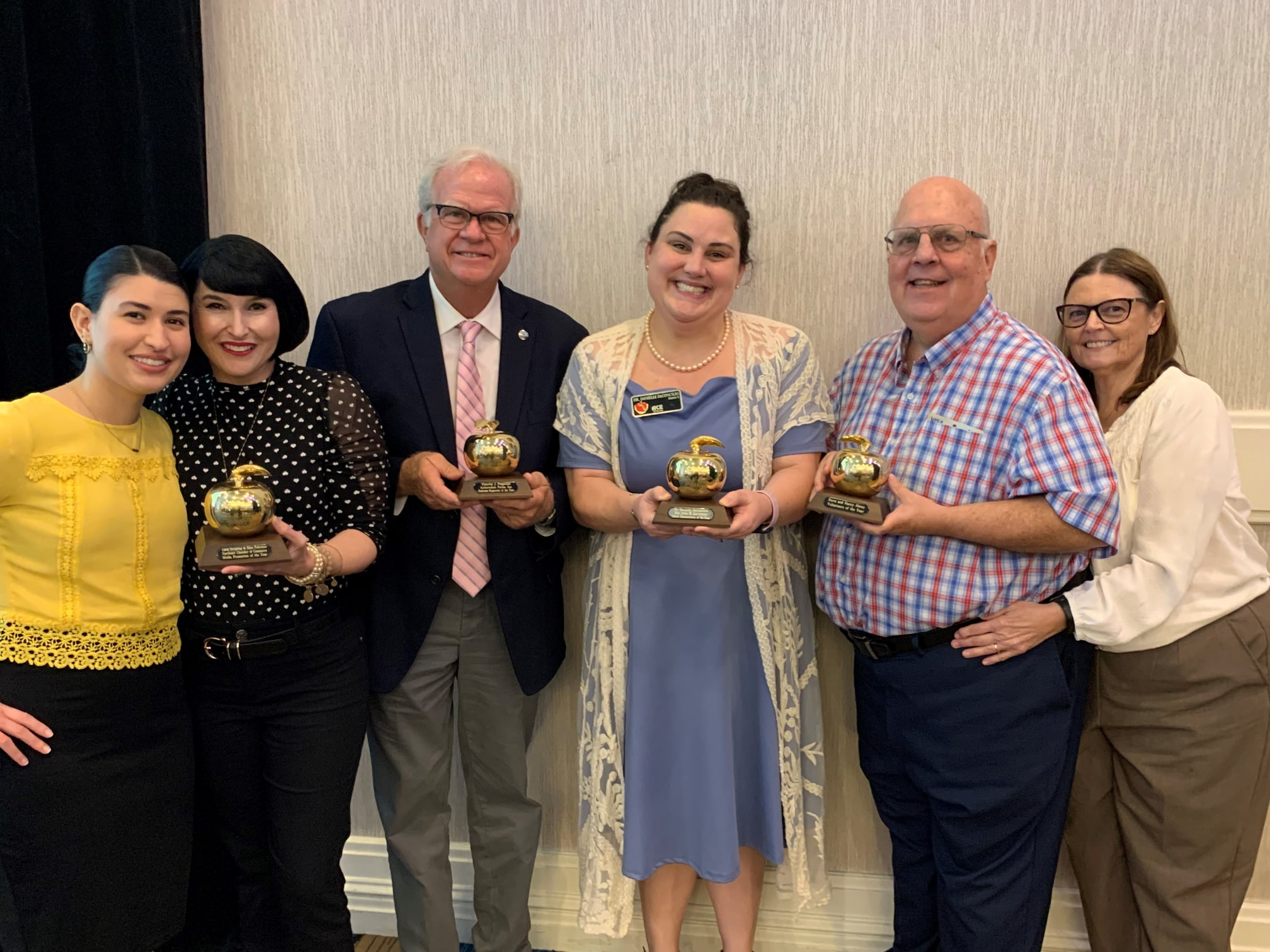 Award winners from East Area Adult School