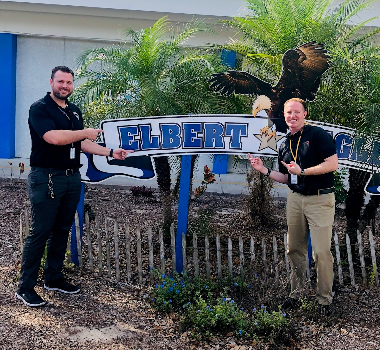 Hall and Clark at Elbert Elementary