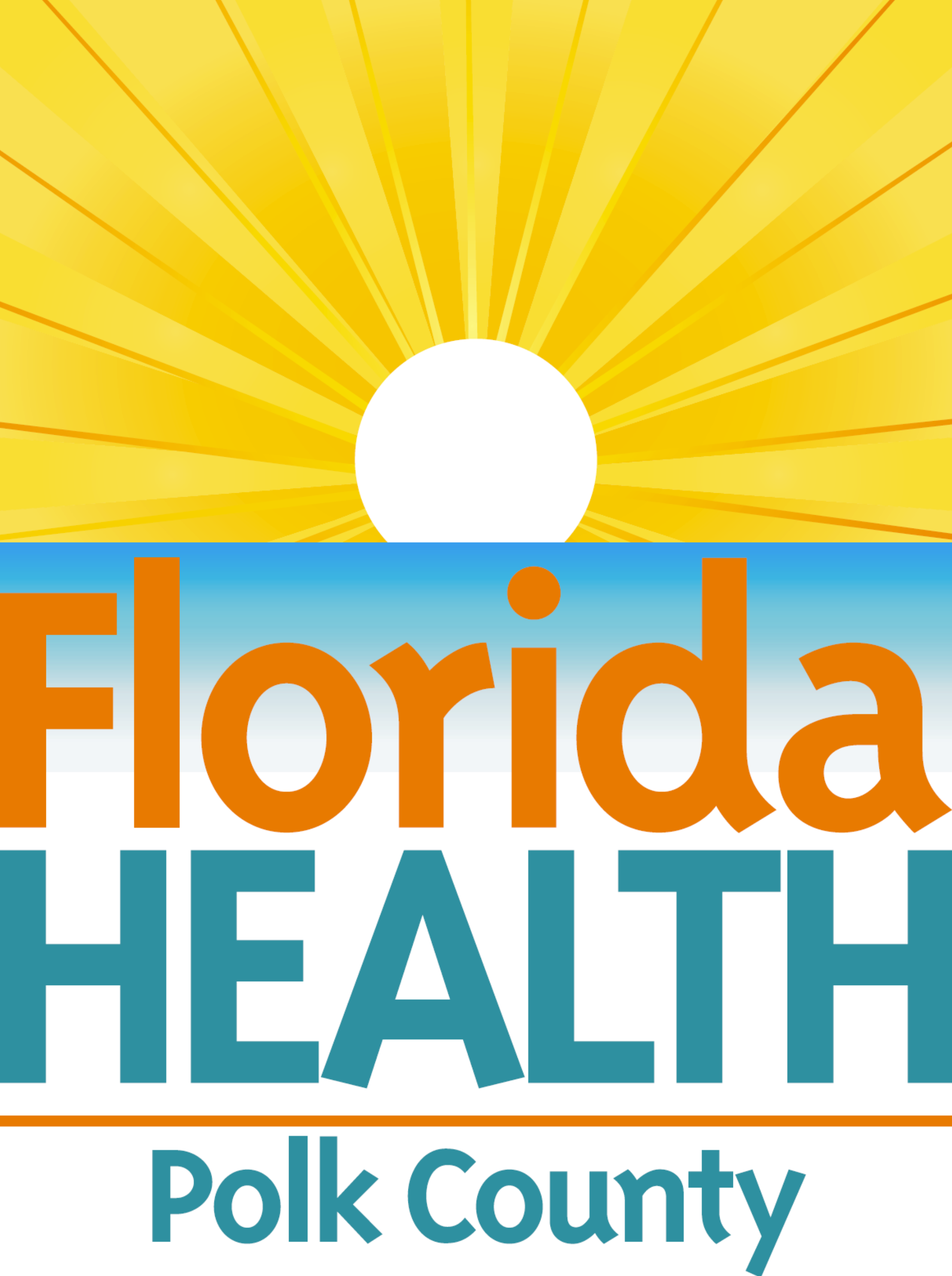 Florida Department of Health in Polk County logo