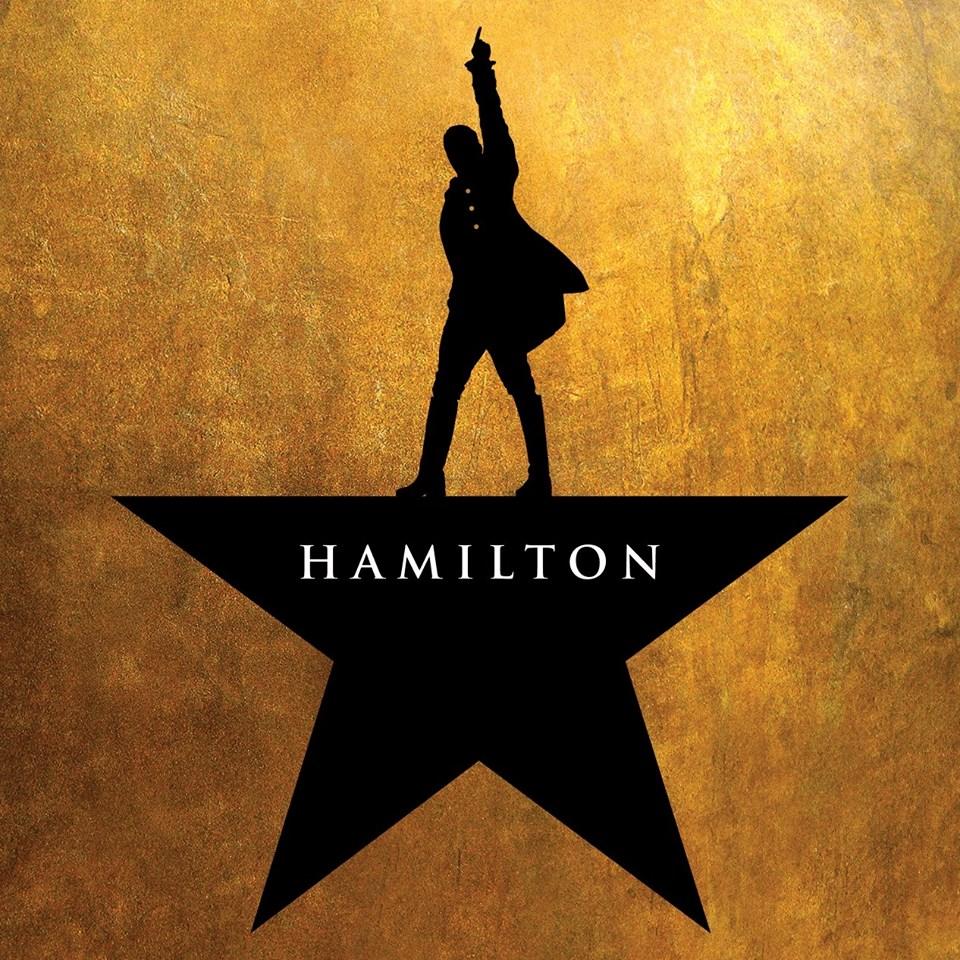 """A logo for """"Hamilton."""""""