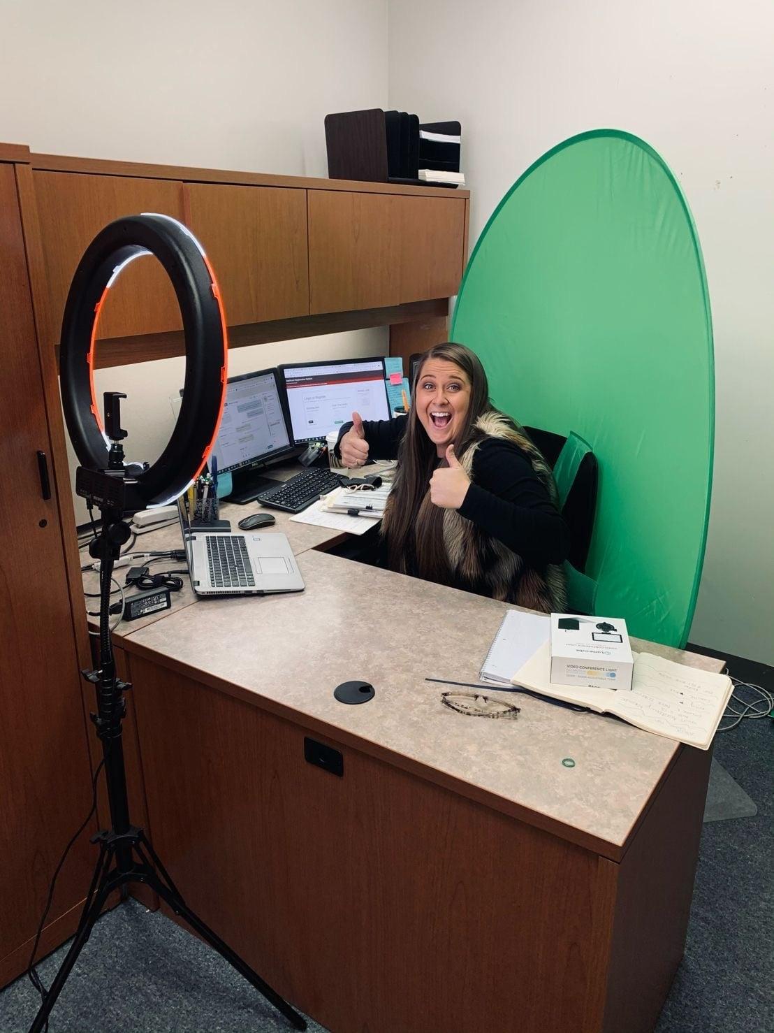 Photo of PCPS recruiter Caroline