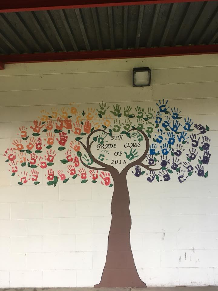 Kathleen Elementary School mural