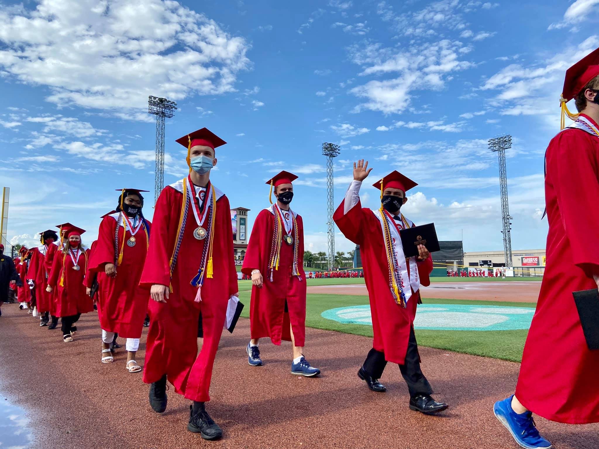 Photo of Kathleen High graduates