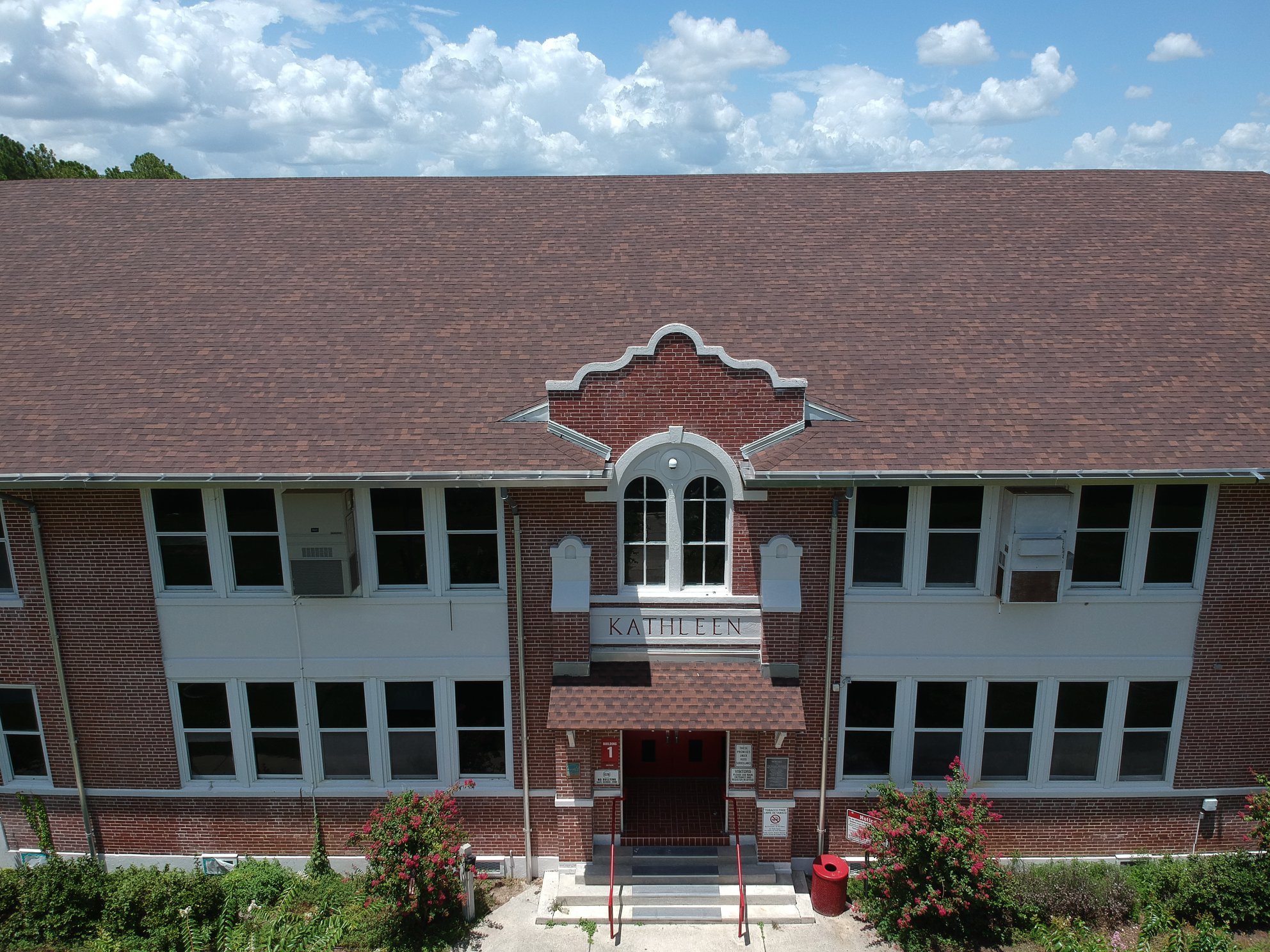 Exterior photo of Kathleen Middle after repairs