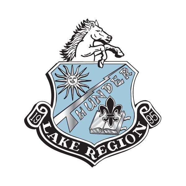 Lake Region High School logo.