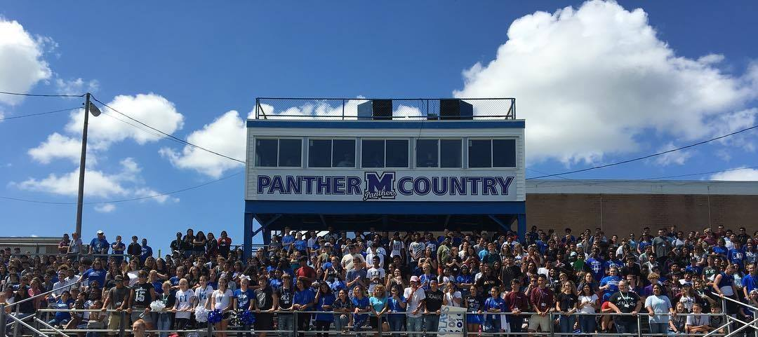 Crowd shot at Mulberry High stadium