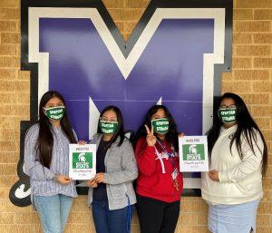 Photo of Luz Vasquez, Rebecca Martinez, Gisselle Chavez Santiago and Jeanette Rocendo