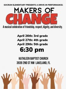 Makers of Change flyer. All info is contained within the story.