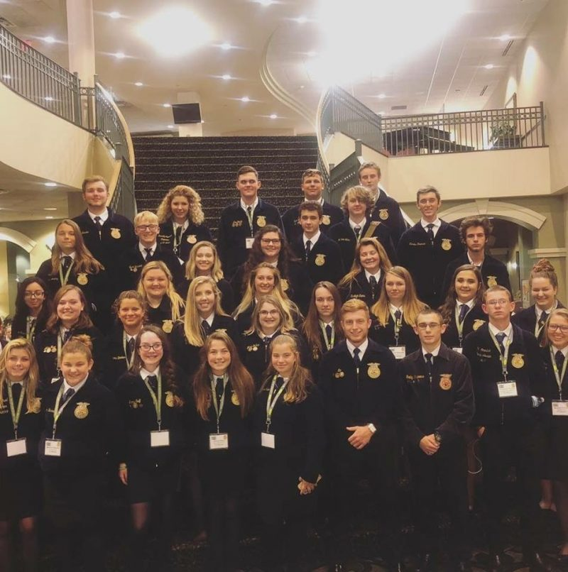 PCPS students at the National FFA Convention in Indianapolis.