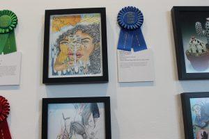 Artwork by Award of Excellence Winner Millie Ortiz