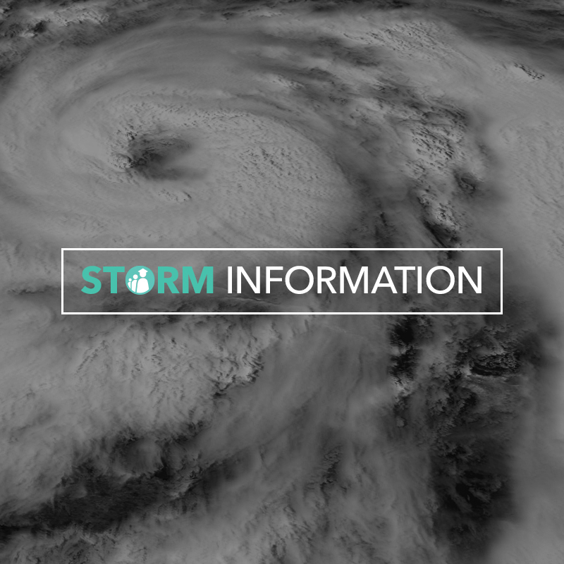PCPS Storm Information banner