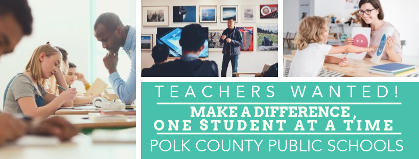 PCPS Teachers Wanted graphic