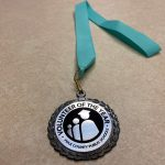PCPS Volunteer of the Year medal