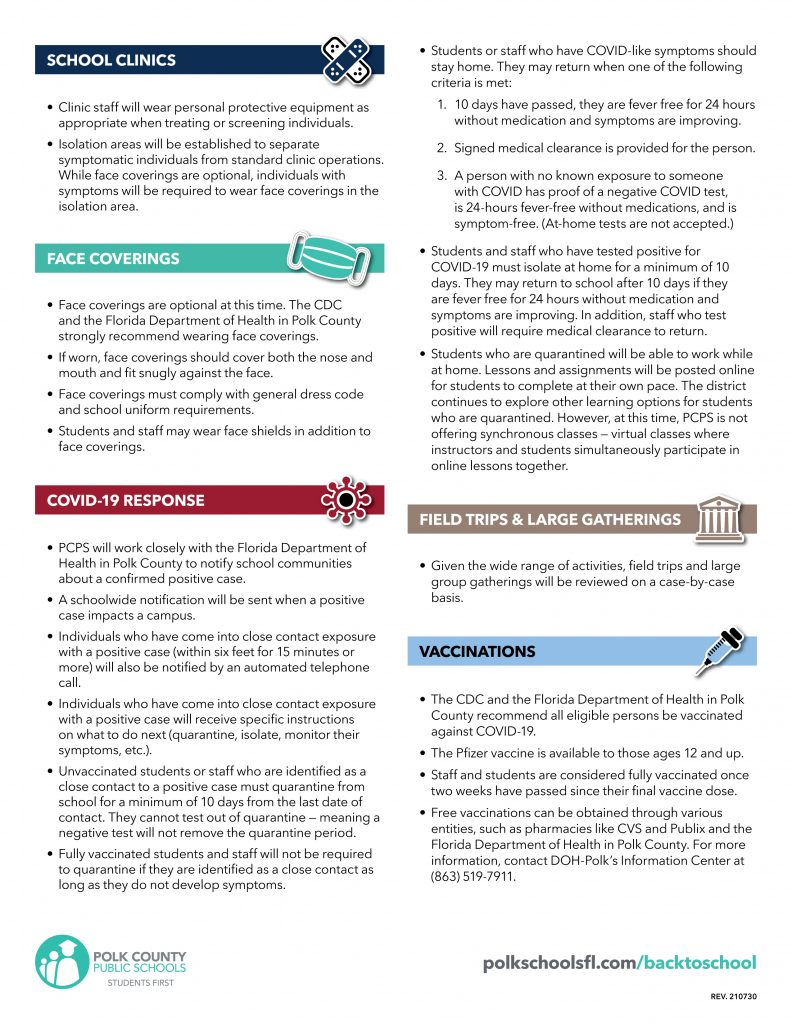 PCPS Back-to-School Guide