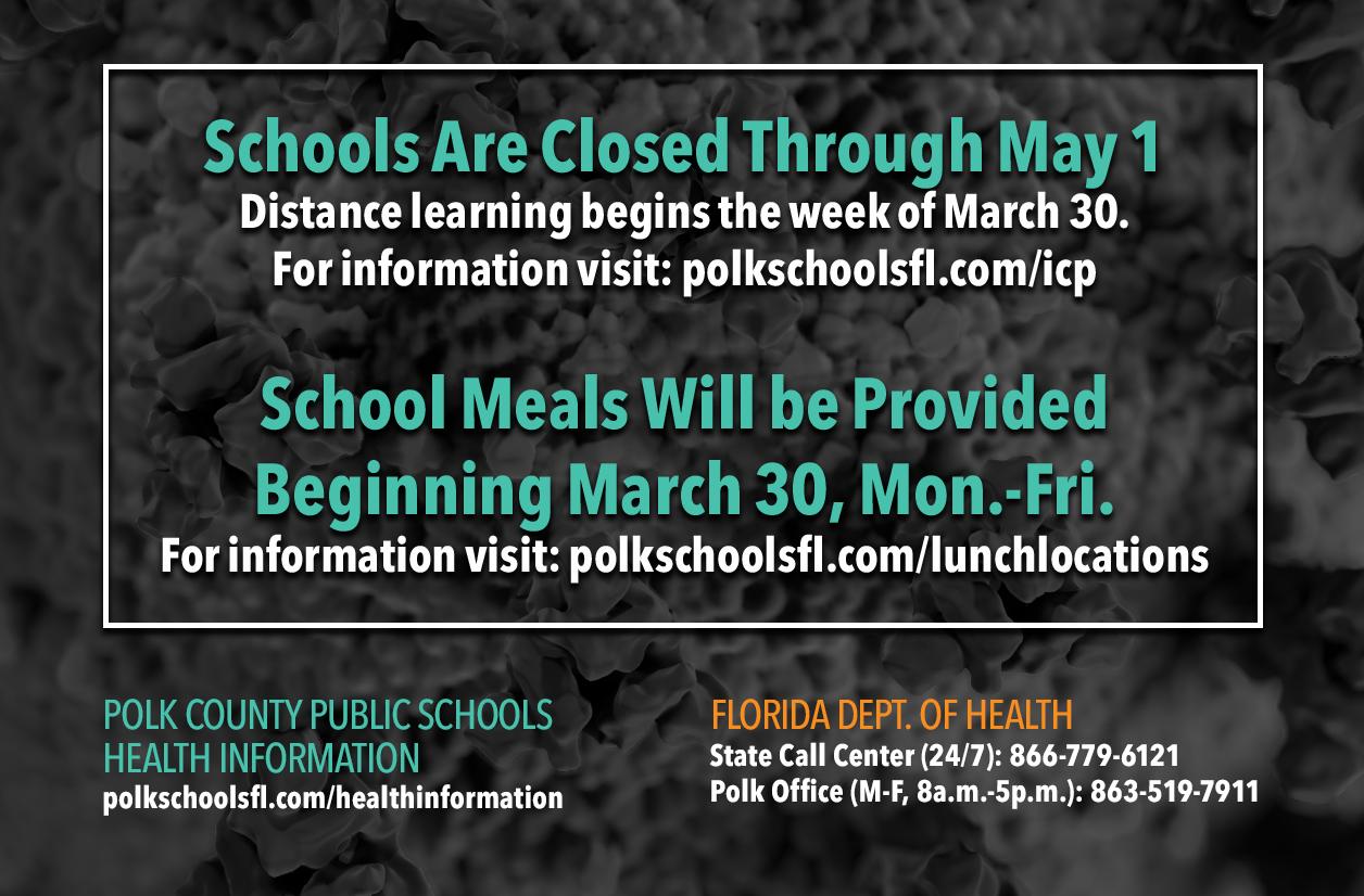 Schools closed May 1