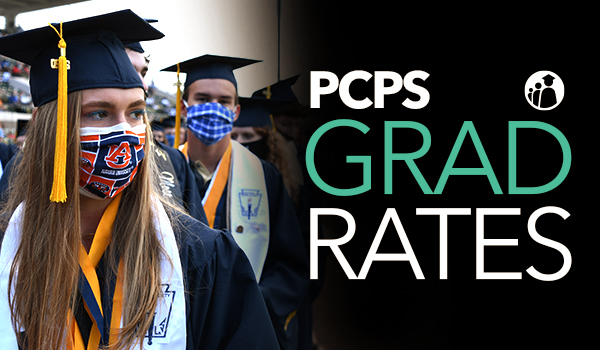 PCPS Grad Rates news art