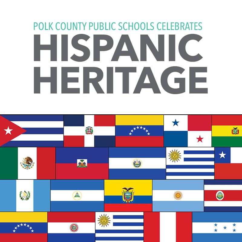 Polk County Public Schools celebrates National Hispanic Heritage Month.