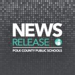 Polk County Public schools news release graphic.