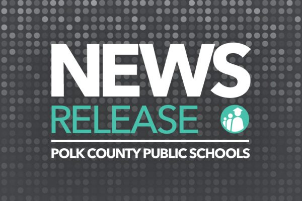 Polk County Public schools news release graphic.