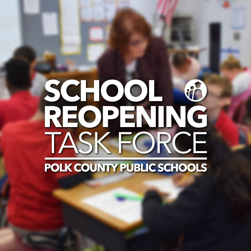 School Reopening Task Force graphic