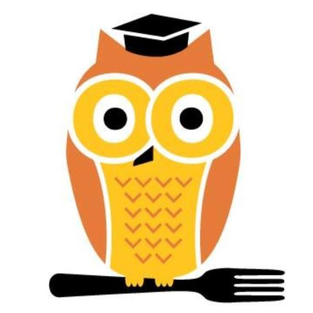 Polk School Nutrition owl logo