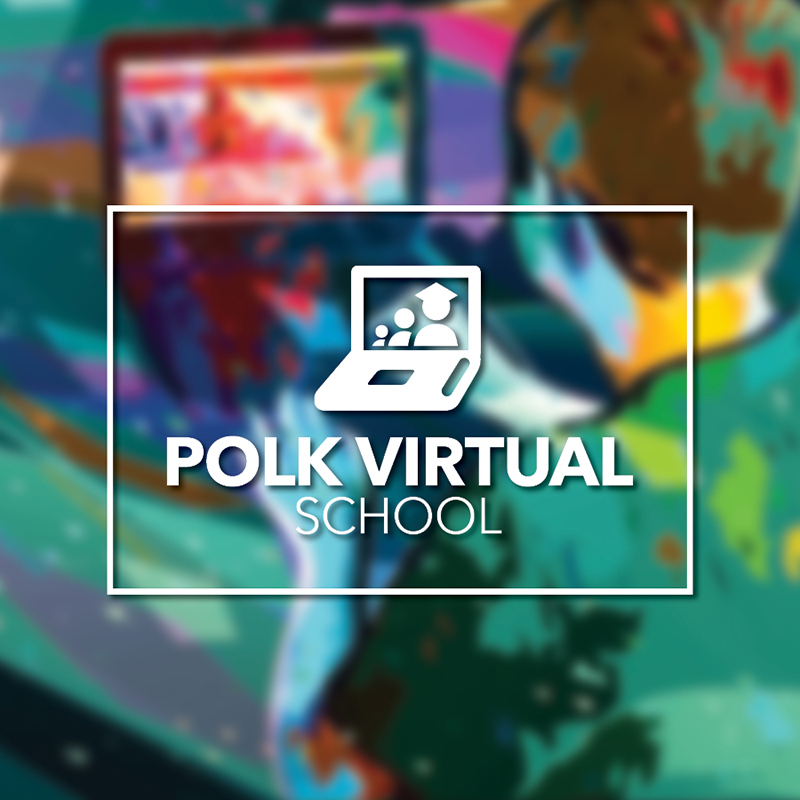 Polk Virtual School news art.