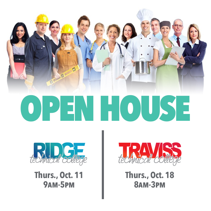 Ridge and Traviss Open House - October 2018