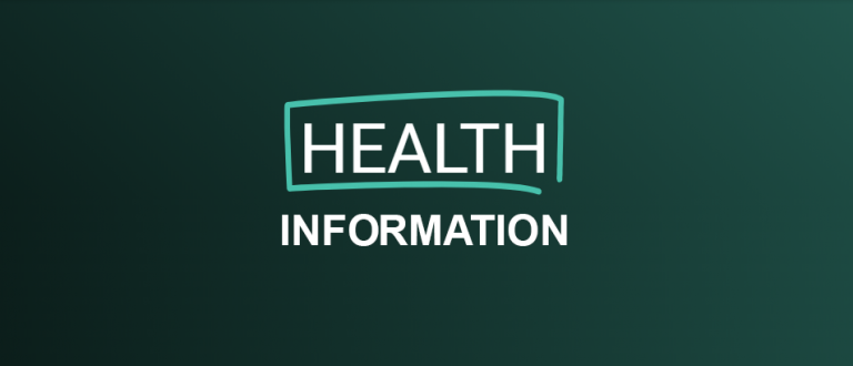 Information Graphic for Health Information