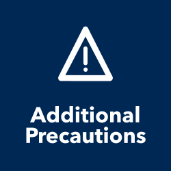Additional Precautions title and icon