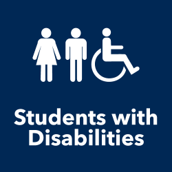 Students with Disabilities title with icon