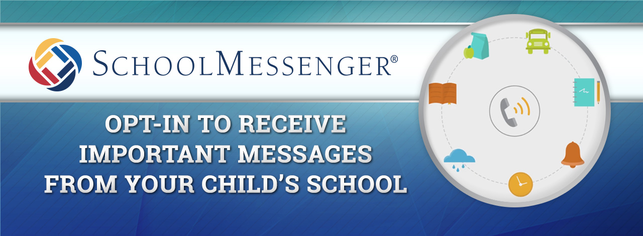 Banner for SchoolMessenger for Polk County Public Schools