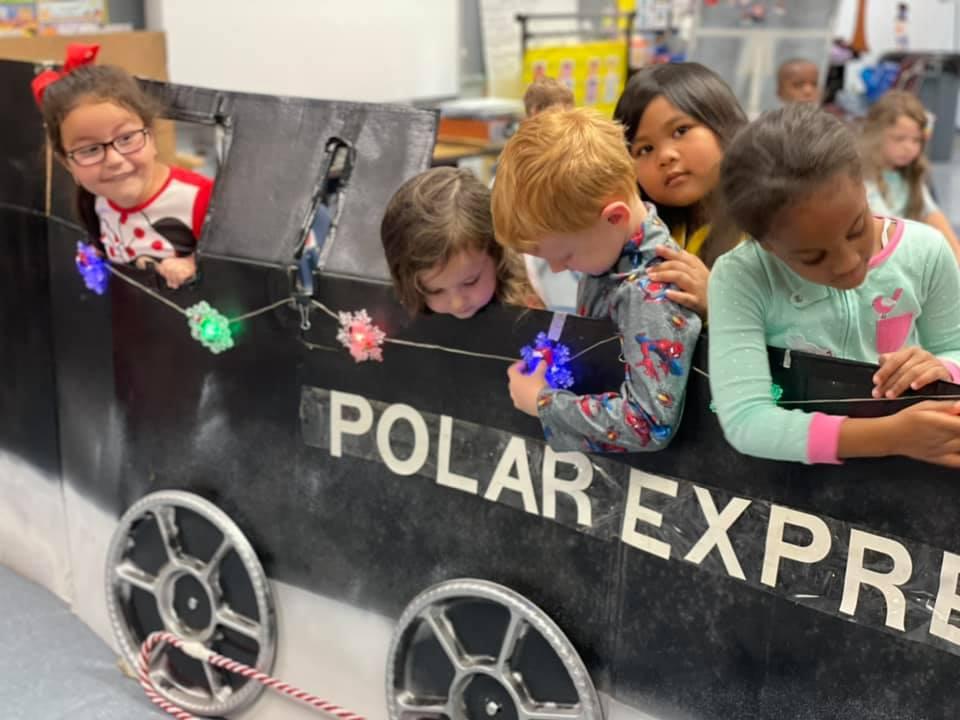 Children in the VPK program at Scott Lake Elementary