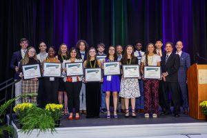 Photo of scholarship recipients