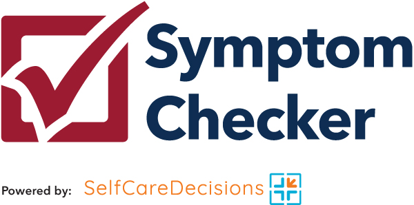 PCPS Symptom Check logo and graphic