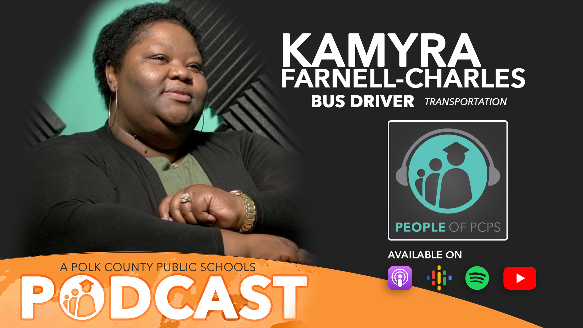 Kamyra Farnell-Charles People of PCPS podcast graphic